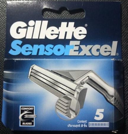 Сменные кассеты для бритья Gillette Sensor Exel 5 шт