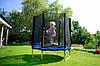 Батут FunFit для детей 183 см. с сеткой, фото 4