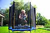 Батут FunFit для детей 183 см. с сеткой, фото 5