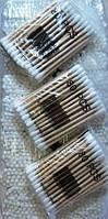 Ухочистки деревянная палочка 80шт.в уп.24шт