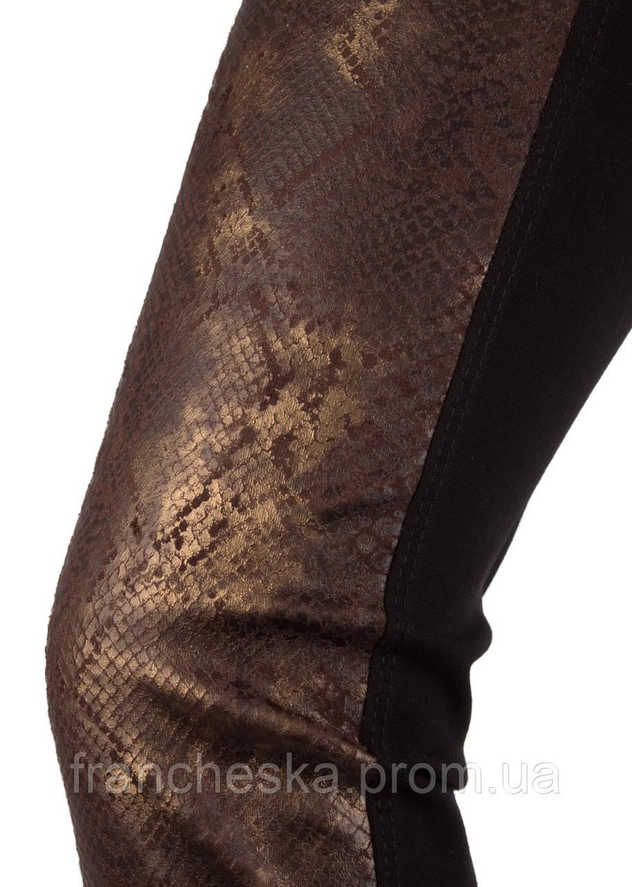 ee08e90135b35 ... ТМ GIULIA брюки-леггинсы со вставками под кожу LEGGY SHINE model 03,  фото 4