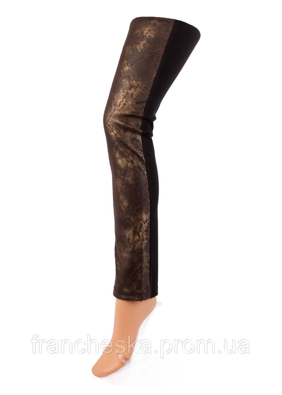 886f281f5d73e ... ТМ GIULIA брюки-леггинсы со вставками под кожу LEGGY SHINE model 03, ...