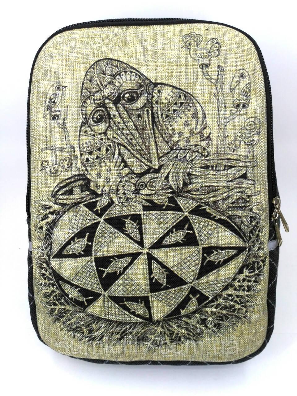 Джинсовый рюкзак В ожидании чуда