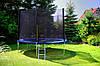 Батуты FunFit 312 см. защитная сетка и лесенка. Акция!, фото 2