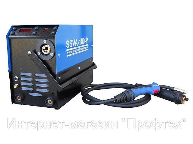 Зварювальний інверторний напівавтомат SSVA-180-РТ плюс аргон