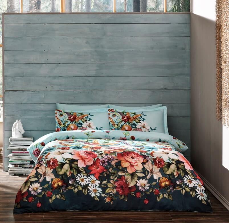 Комплект постельного белья из натурального сатина DIGITAL LUMINA