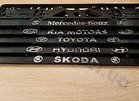 3D-рамки для номерных знаков Skoda