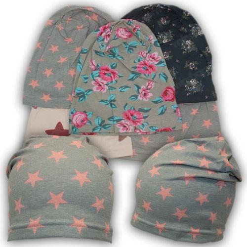 Демисезонные шапки на девочку, р. 46-48, 50-52