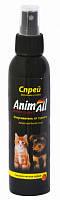 Спрей AnimAll Енімал для котів і собак для захисту місць не призначених для туалету 150мл