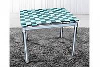Стеклянный раскладной стол Токио