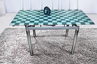 Стеклянный раскладной стол Токио2
