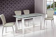 Стеклянный раскладной стол Ирен