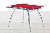Стеклянный раскладной стол Чикаго2