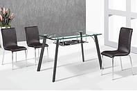 Стеклянный стол Вегас