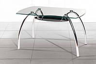 Стеклянный стол Рио