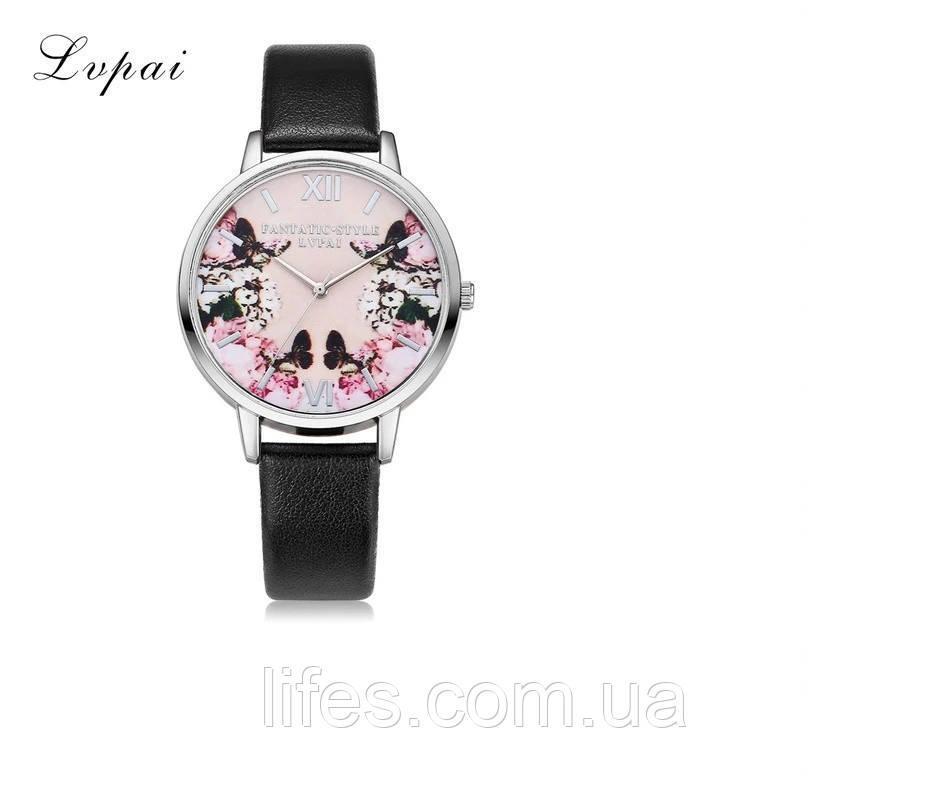 Женские часы LVPAI Черный ремешок