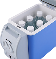 Автохолодильник для охлаждения, подогрева продуктов питания, и напитков от прикуривателя