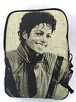 Джинсовый рюкзак Майкл Джексон 4, фото 1