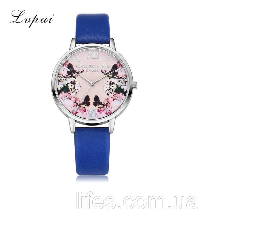 Женские часы LVPAI Синий ремешок