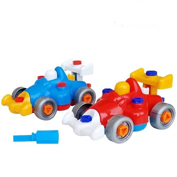 Детский конструктор с отвёрткой Colorplast Гонка (1-157)