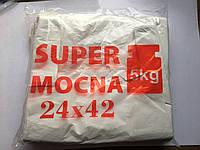 Пакет полиэтиленовый Майка ''SUPER MOCNA'' 240*420 мм (24*42), 200 шт