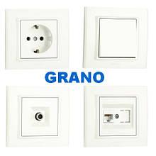 Розетки і вимикачі OVIVO (серія Grano)