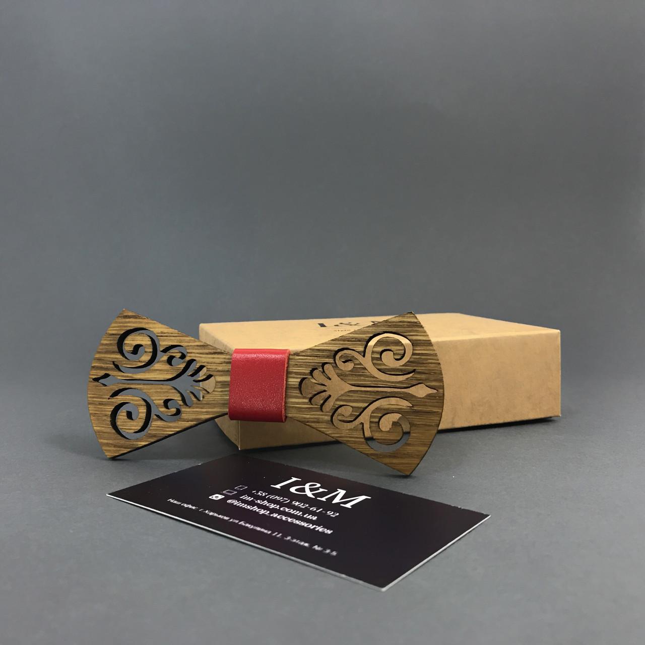 Галстук-бабочка I&M Craft из дерева (011203)