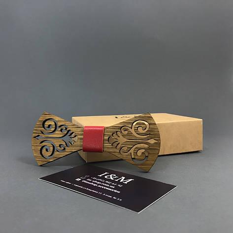 Галстук-бабочка I&M Craft из дерева (011203), фото 2