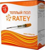 Теплый пол Ratey 1,40кВт (Ратей) секция 95м - до 14м²