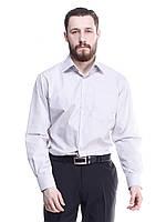 Мужская рубашка светло-серого цвета