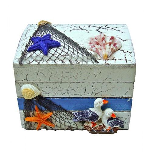 Скринька з елементами декору Морська