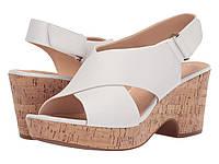 Туфли на каблуке Clarks Maritsa Lara White Leather