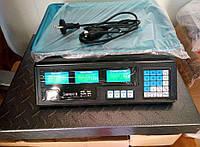 Весы торговые товарные до 50 кг 6v точные калькулятор счетчик цен ваги торгові электронные весы базарные