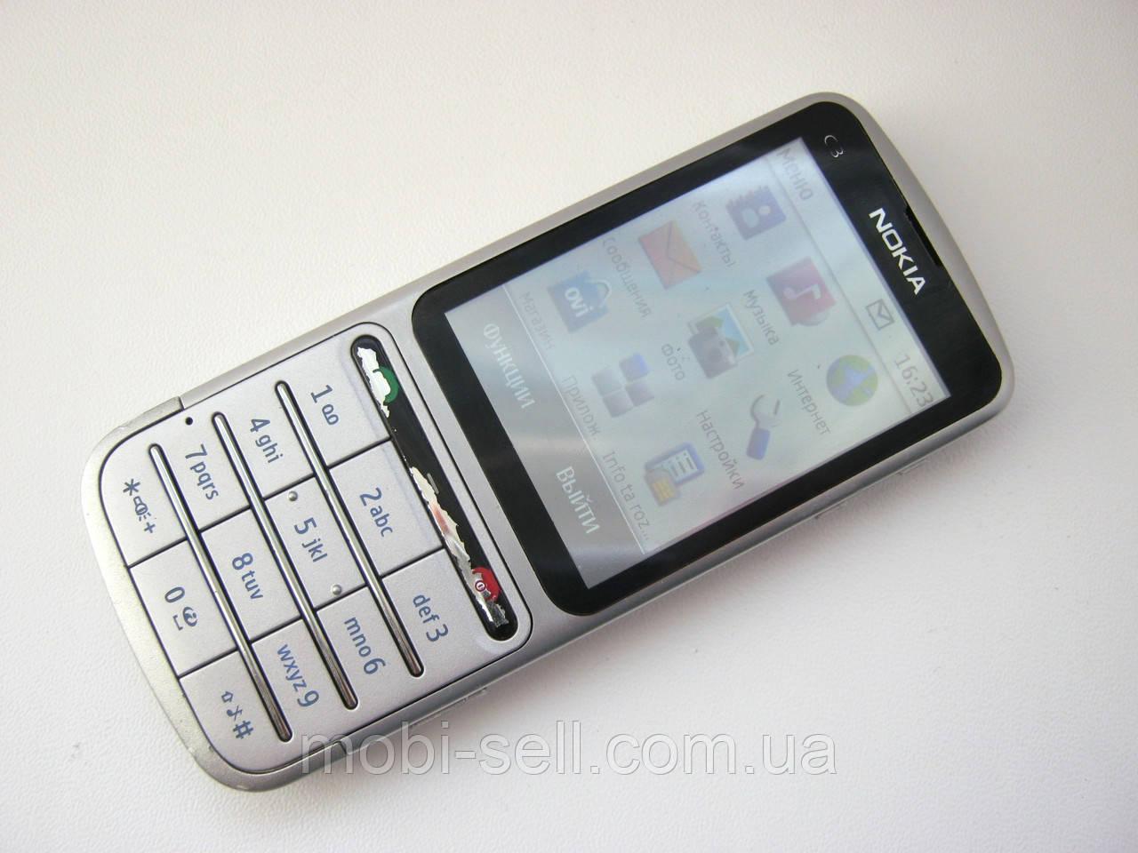 877245221e1b5 Б/У Мобильный телефон Nokia C3-01, 1SIM / 3G / Wi-Fi / BT / 5Мп ...