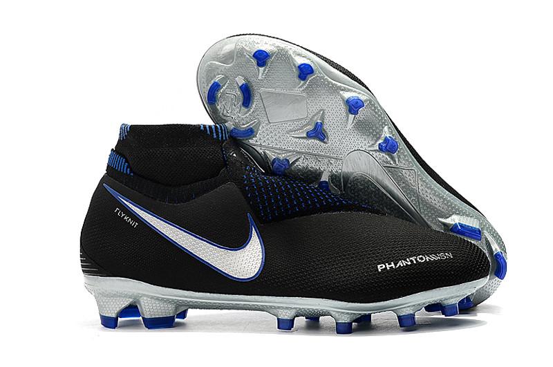 Бутсы Nike Phantom Vision Elite DF FG black