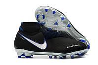 Бутсы Nike Phantom Vision Elite DF FG black, фото 1