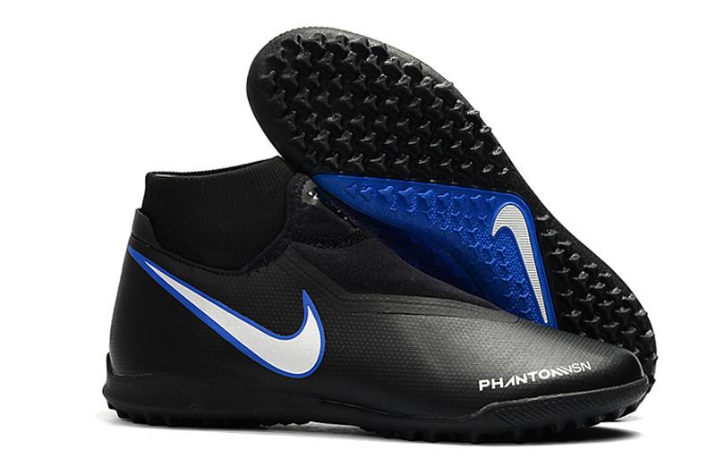 Сороконожки Nike Phantom Vision Elite DF TF black/blue