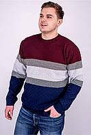 Мужской свитер TAIKO (Беня) бордовый