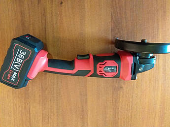 Аккумуляторная угловая шлифмашина  Edon ED-JM-7001