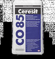 Добавка для изготовления стяжек и штукатурок со звукоизоляционным эффектом Ceresit CO 85 25 кг