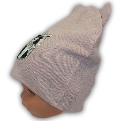 шапочки для детей енот