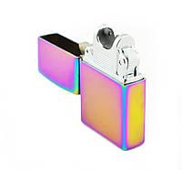 Электроимпульсная USB зажигалка Zippo JINLUN 215 Хамелеон (up2543)