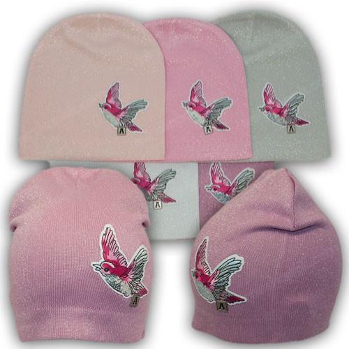 Демисезонные шапки для детей, р. 50-52