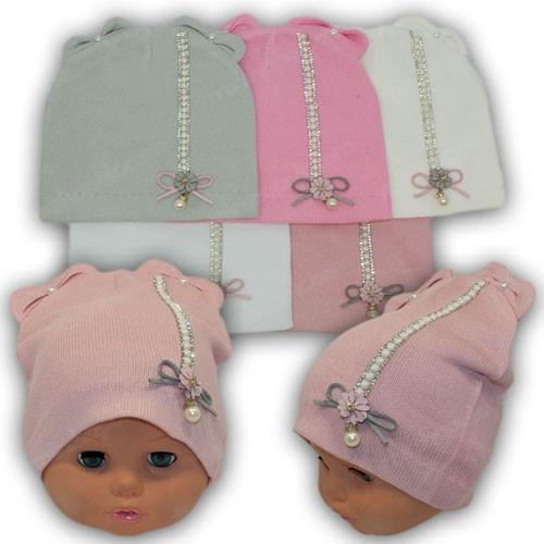 Модные детские шапки весна, р. 42-44