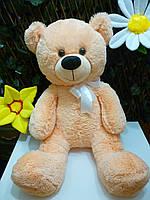 """БОЛЬШОЙ ПЛЮШЕВЫЙ МЕДВЕДЬ. Мягкая игрушка """" Медведь Персик"""", 85*35*30 см."""