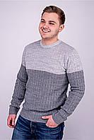 Мужской свитер TAIKO (Михаил) серый