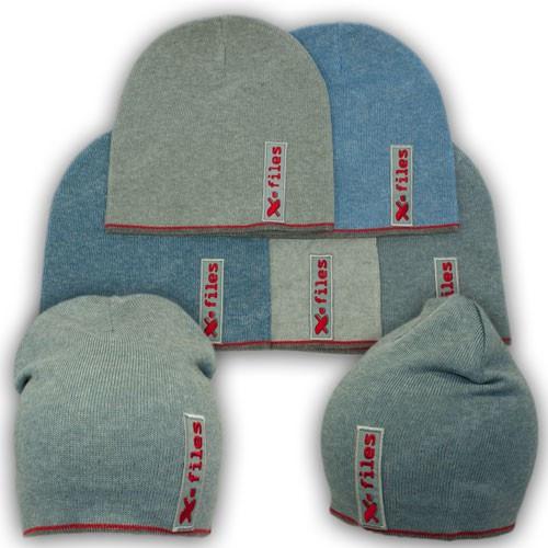 Модные вязаные шапки для детей, р. 50-52