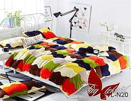 Плед на кровать велсофт VL-N20