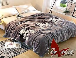 Плед на кровать велсофт VL-N21
