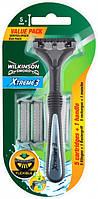 Станок мужской Wilkinson Sword Xtreme3 Hybrid + 3 сменных картриджа